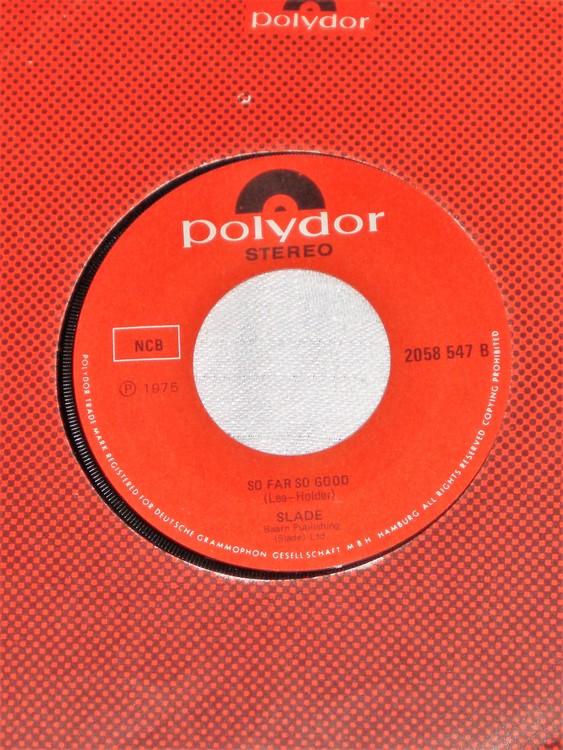 "Slade ""How Does it Feel"" 1975 mycket bra skick."