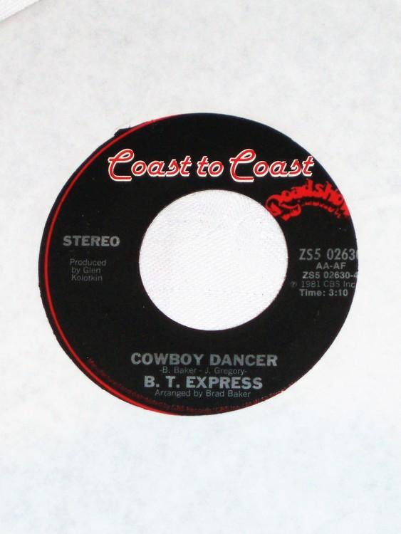 "B.T. Express ""Let Yourself Go"" 1981 mycket bra skick."