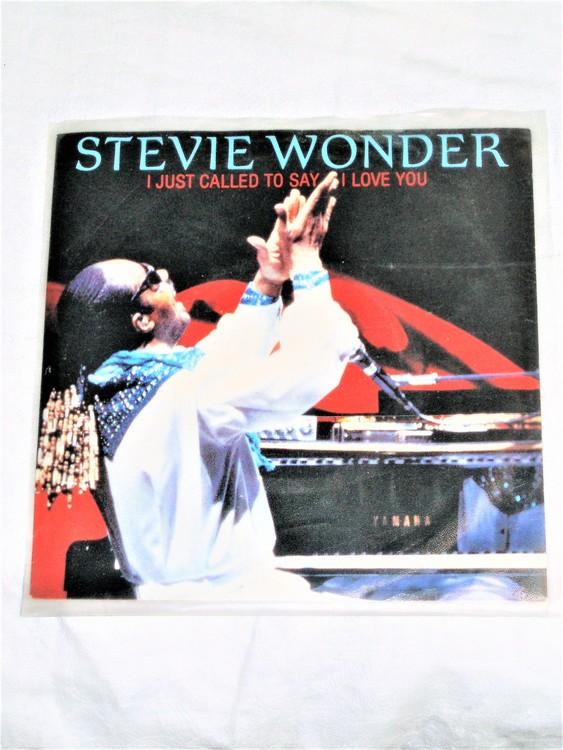"Stevie Wonder ""I Just Called To Say I Love You""mycket bra skick."