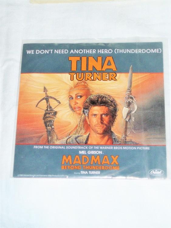"Tina Turner ""Mad Max Beyond Thunderdome""mycket bra skick."