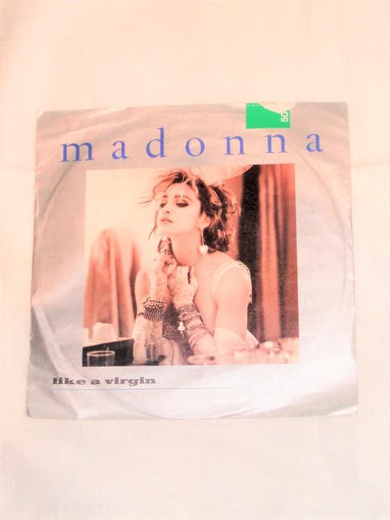 """Madonna""""Like A Virgin"""" mycket bra skick."""