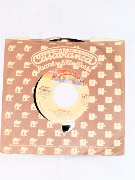 "Donna Summer ""Hot Stuff"" mycket bra skick."
