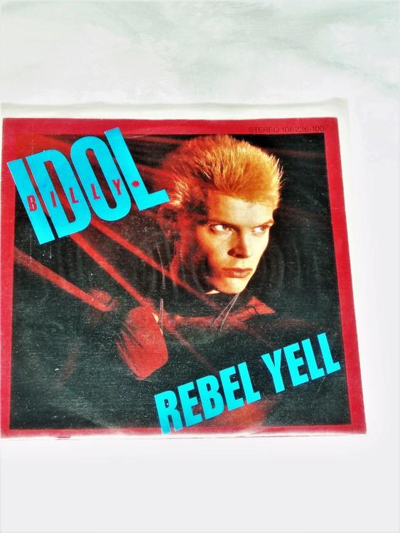 """Billy Idol """"Rebel Yell"""" mycket bra skick."""