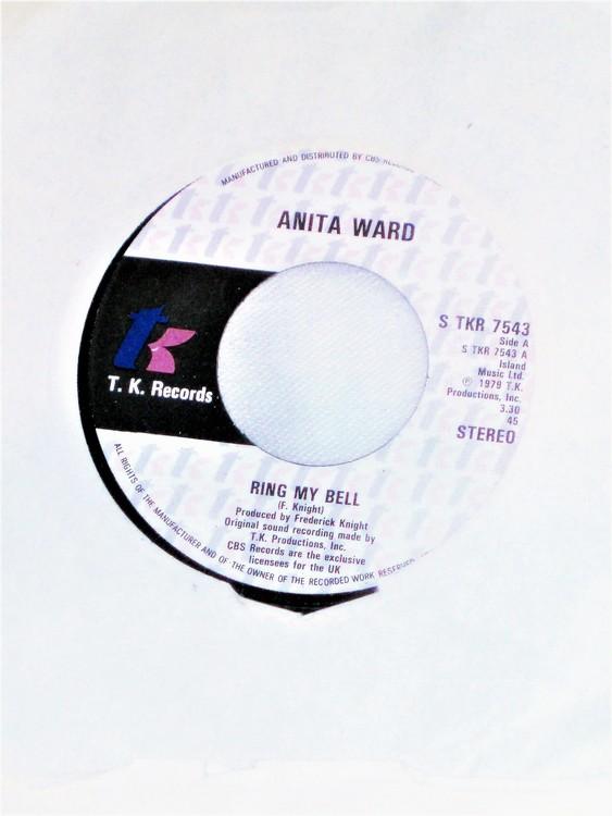 """Anita Ward """"Ring My Bell"""" 1979 mycket bra skick."""