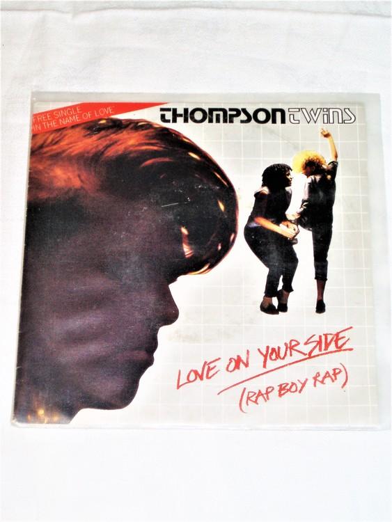 "Thomson Twins ""Love On Your Side"" mycket bra skick."