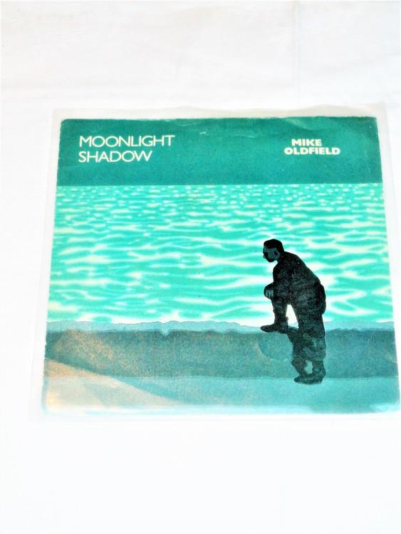 "Mike Oldfield ""Moonlight Shadow"" mycket bra skick."