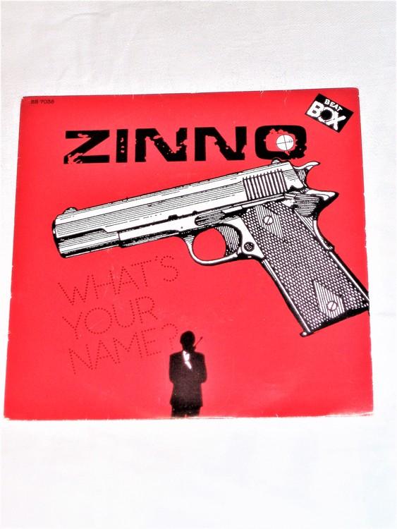 "Zinno ""Whats Your Name""1985 Beat Box mycket bra skick."