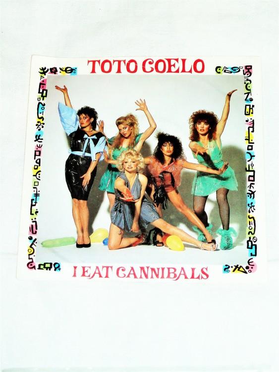 """Toto Coelo """"I Eat Caniballs"""" mycket bra skick."""