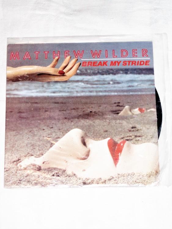 """Matthew Wilder """"Break My Stride"""" mycket bra skick."""