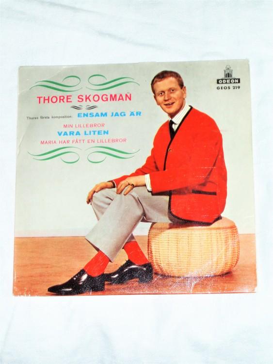 """Thore Skogman """"Ensam Jag Är"""" 1964 mycket bra skick."""