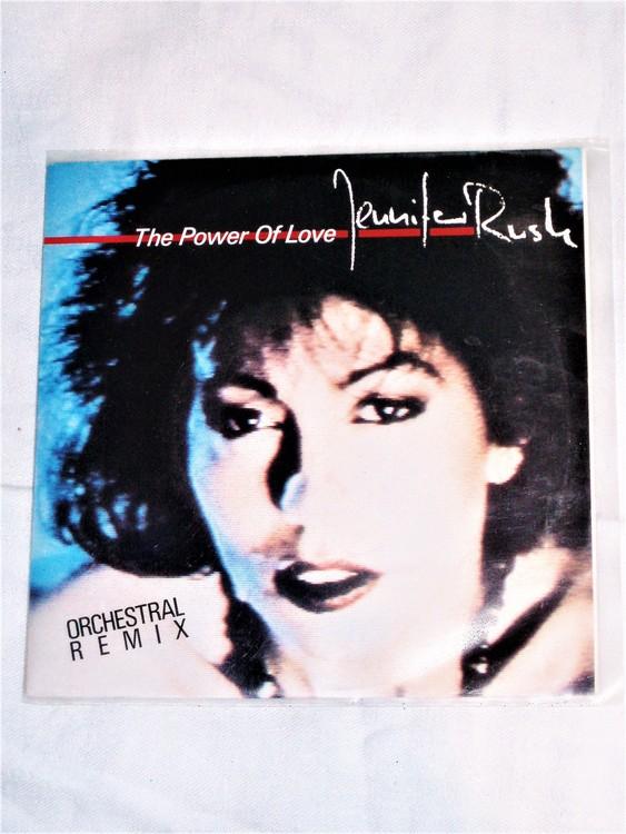 "Jennifer Rush""The Power Of Love""  mycket bra skick."