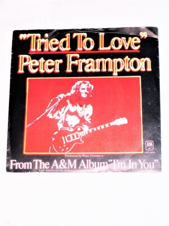 "Peter Framton ""Tried To Love"" mycket bra skick."
