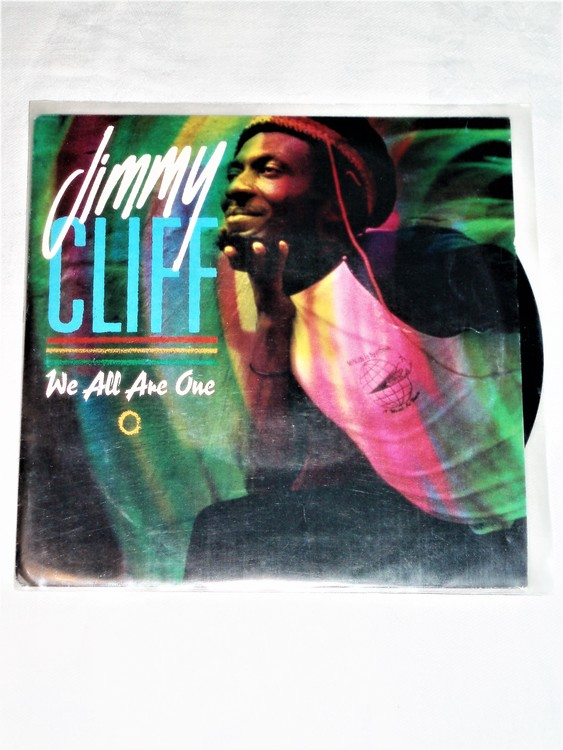"""Jimmy Cliff """"We All Are One"""" mycket bra skick."""