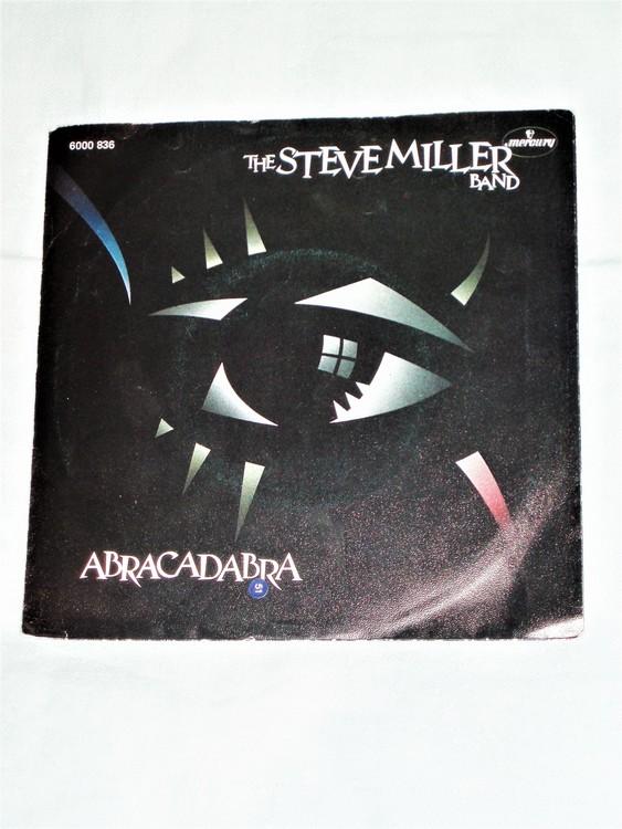 "The Steve Miller Band ""Abracadabra"" mycket bra skick."