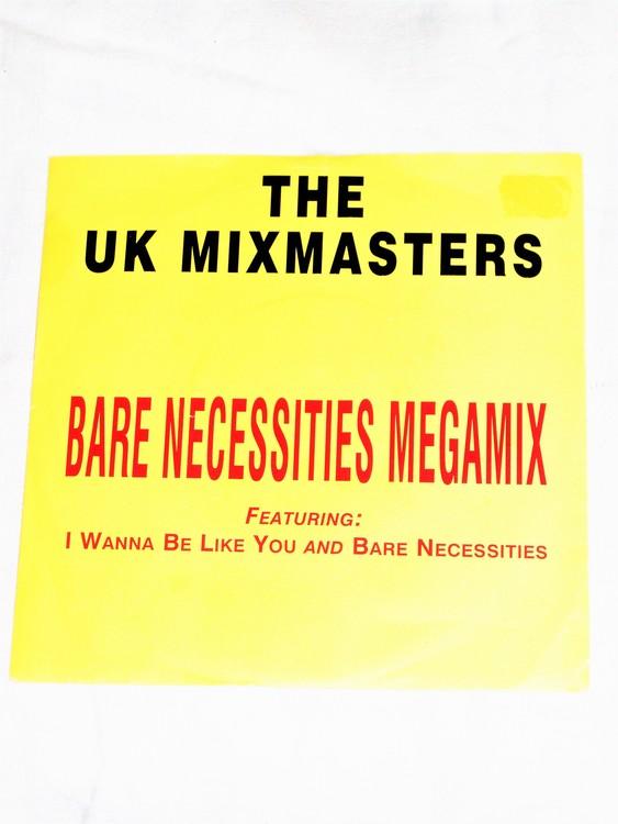 "The UK Mixmasters ""Bare Necessities Mega mix"" mycket bra skick."