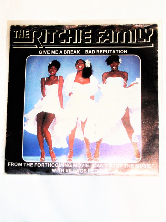 """The Ritchie Family """"Give Me A Break"""" mycket bra skick."""
