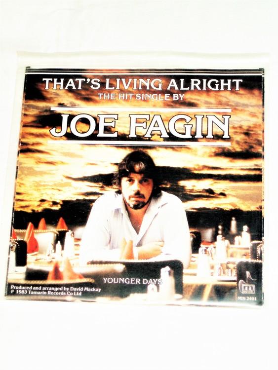 """Joe Fagin """"That´s Living Alright"""" mycket bra skick."""