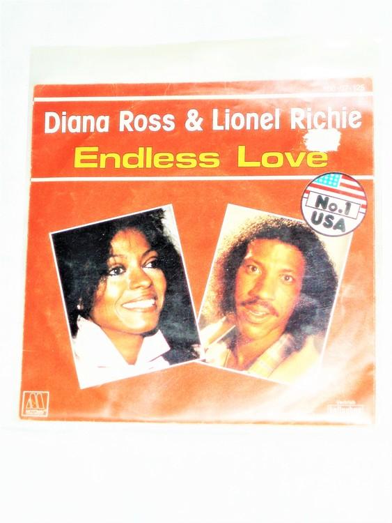 "Diana Ross&Lionel Richie ""Endless Love""mycket bra skick."