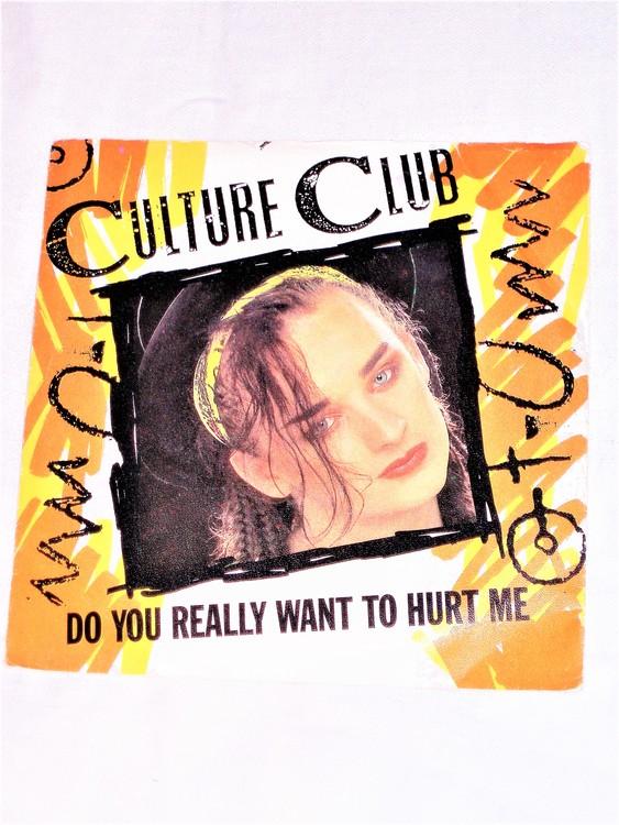 "Culture Club""Do You Really Want To Hurt Me"" mycket bra skick."