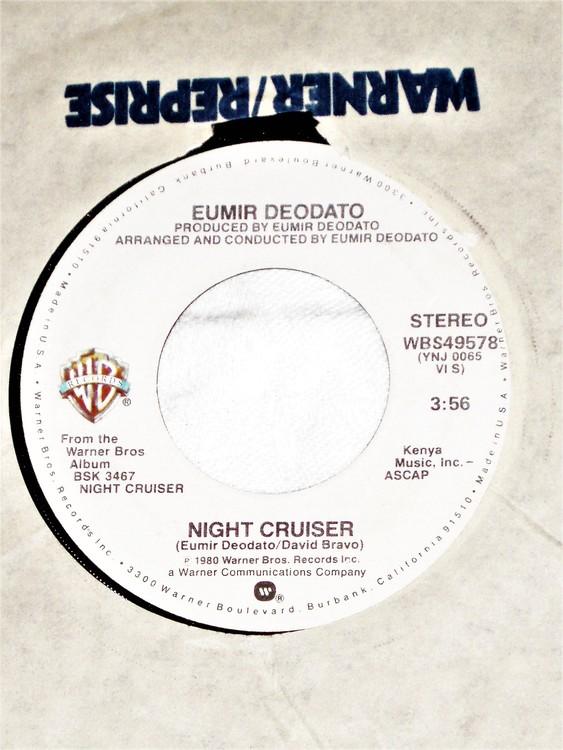 "Eumir Deodato ""Night Cruiser"" 1980 mycket bra skick."