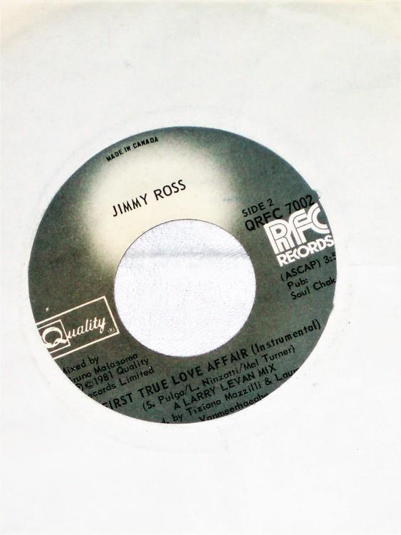 "Jimmy Ross""First True Love"" 1981 mycket bra skick."