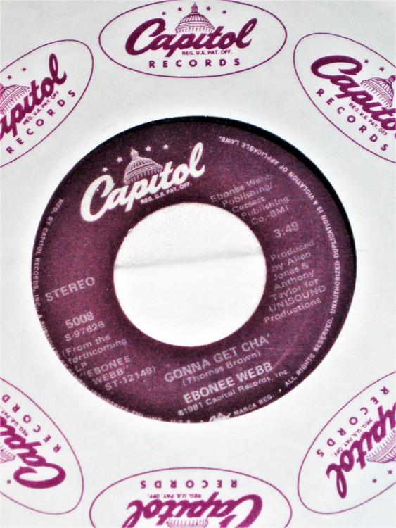 "Ebonne Webb ""Gonna Get Cha"" 1981 mycket bra skick."