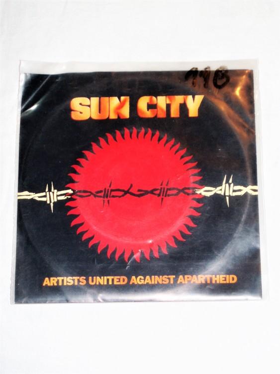 "Sun City ""Artists United Against Apartheid"" mycket bra skick."