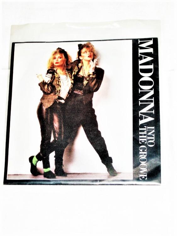 "Madonna ""Into The Groove"" mycket bra skick."