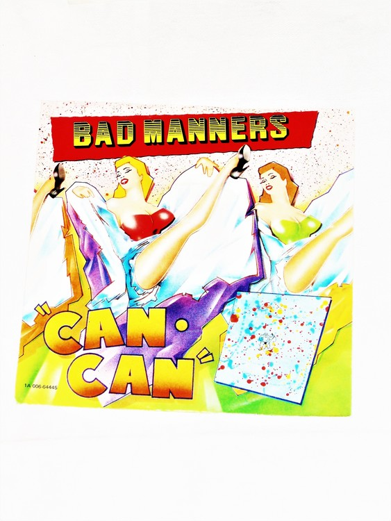 """Bad Manners """"Can Can"""" mycket bra skick."""