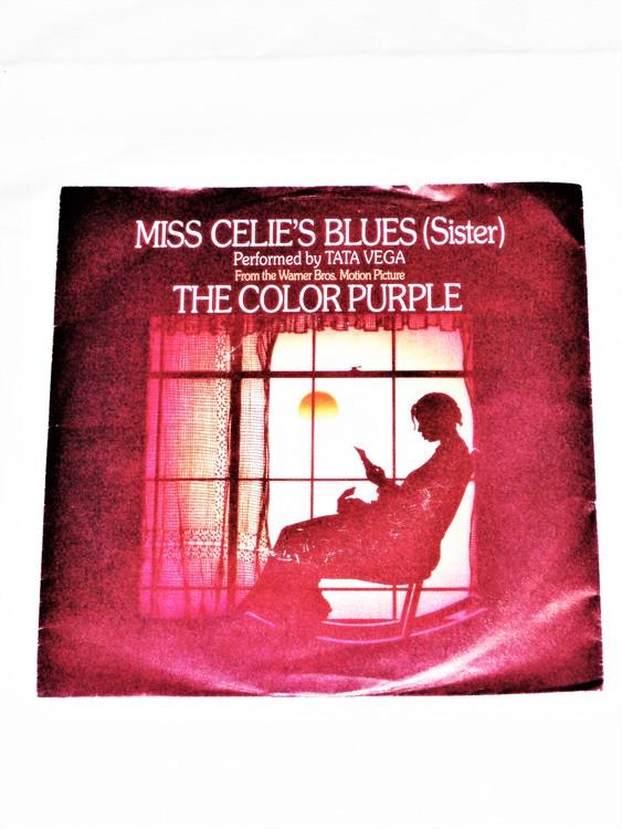 """Tata Vega """"Miss Celius Blues"""" The Color Purple mycket bra skick."""