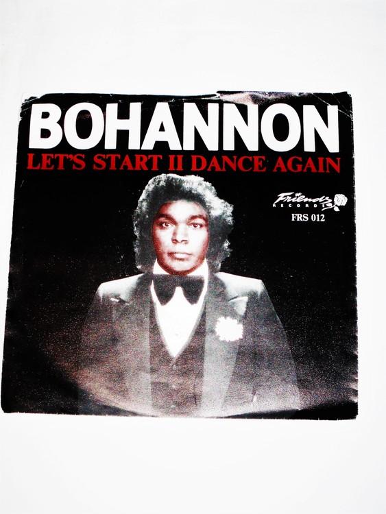 """BoHannon """" Lets Start II Dance Again"""" mycket bra skick."""