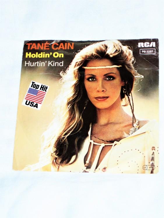 "Tane Cain ""Holdin On"" mycket bra skick."
