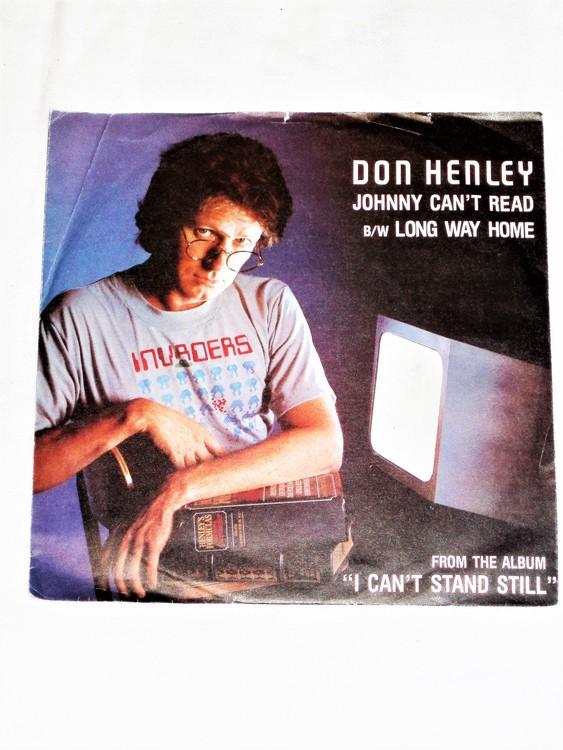 """Don Henley """"Johnny Cant Read"""" mycket bra skick."""