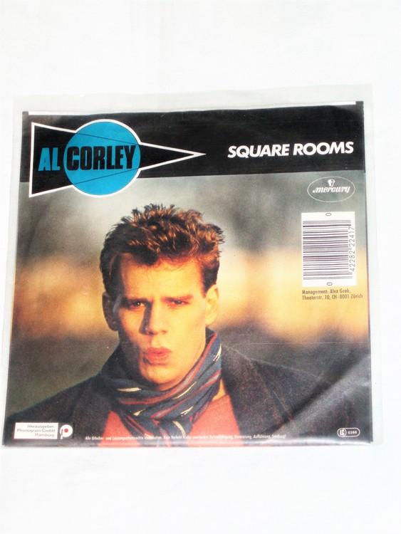 """Al Corley """"Square Rooms"""" mycket bra skick."""