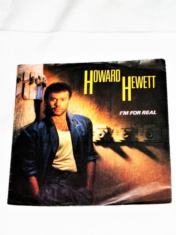 """Howard Hewett """"I´m for Real"""" mycket bra skick."""