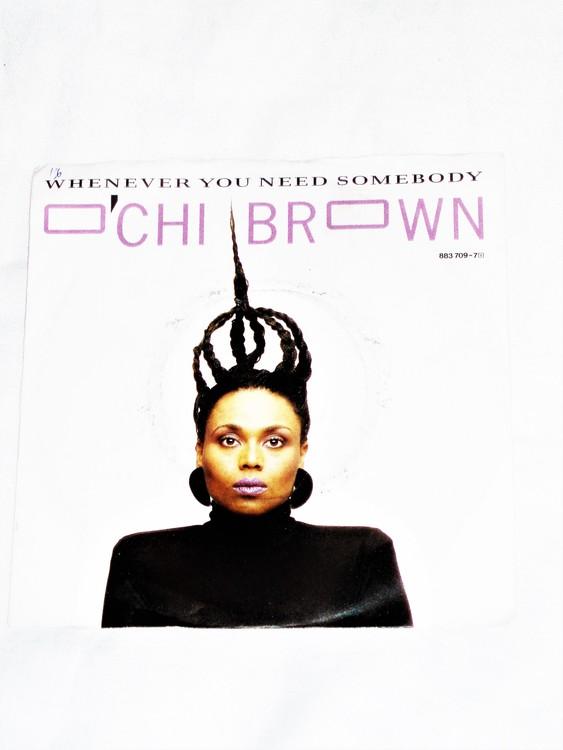 "Ochi Brown ""Whenever You Need Somebody"" mycket bra skick."