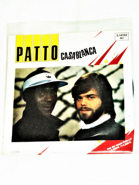 "Patto ""Casablanca"" mycket bra skick."