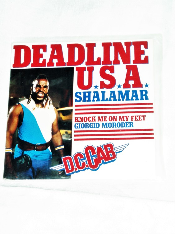 "Deadline U.S.A Shalamar""Knock Me On My Feet"" mycket bra skick."