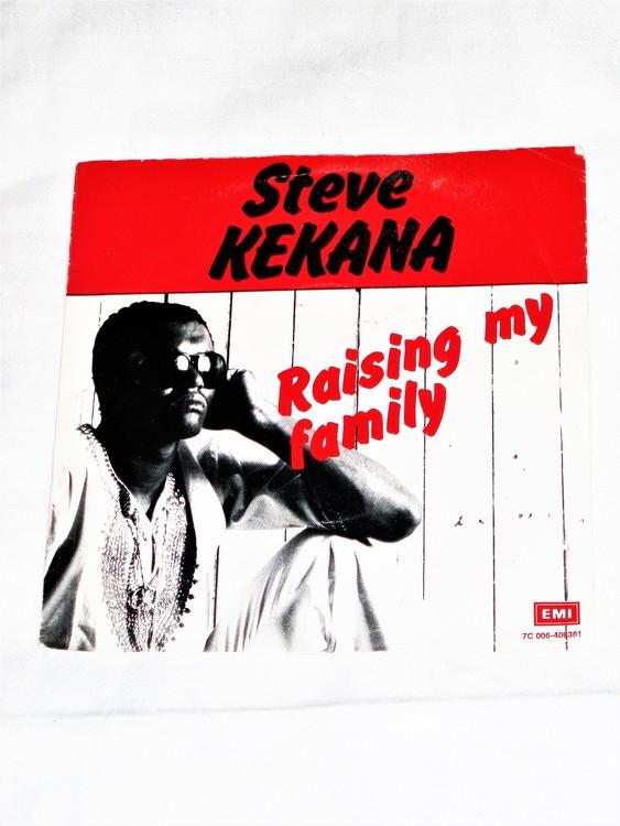 "Steve Kekana ""Raising My Family"" mycket bra skick."