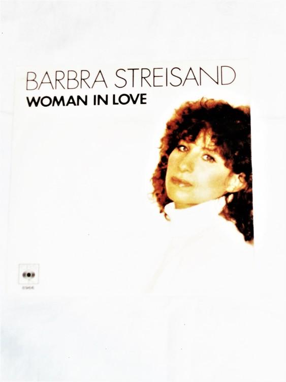 "Barbara Streisand "" Woman In Love"" mycket bra skick."