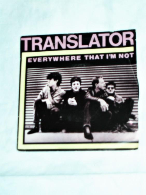 """Translator """"Everywhere That I´m Not"""" mycket bra skick."""
