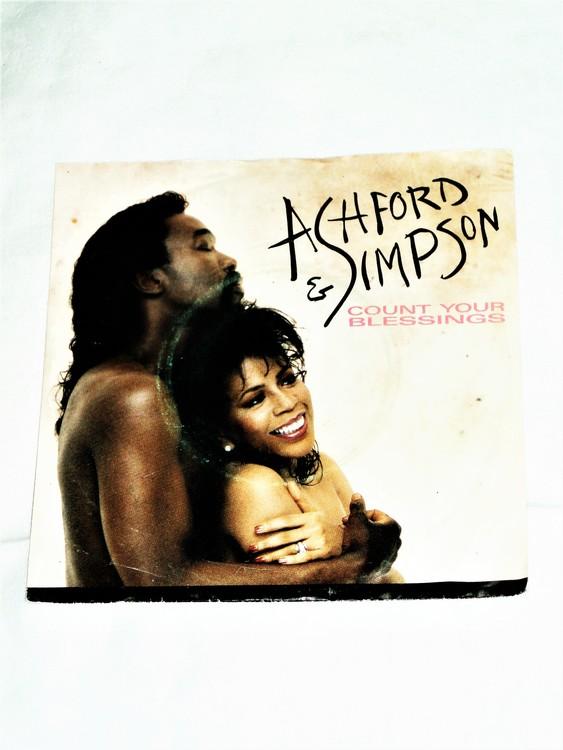 "Ashford & Simpson ""Count Your Blessings""mycket bra skick."