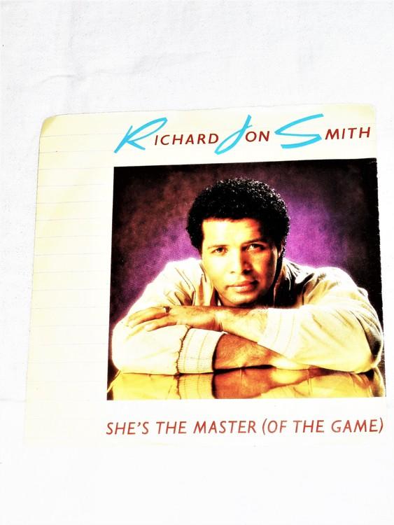 "Richard Jon Smith ""Shes The Master(Of The Game)""mycket bra skick."