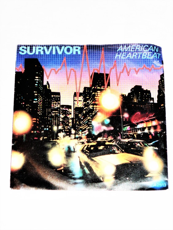 "Survivor ""American Heartbeat""mycket bra skick."