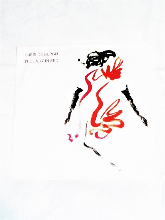 "Cris De Burgh ""The Lady In Red"" mycket bra skick."