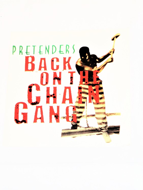 "Pretenders ""Back On The Chain Gang"" mycket bra skick."