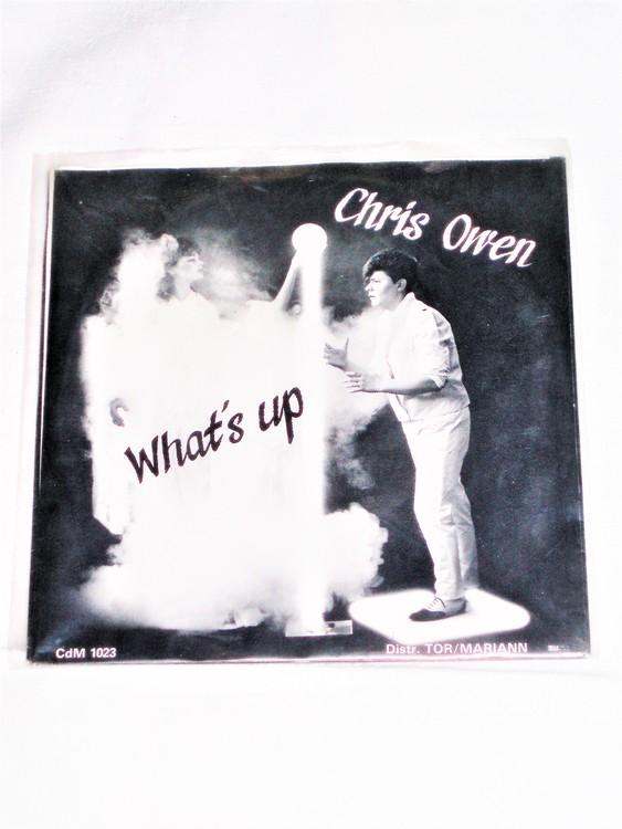 "Cris Owen ""Whats Up"" mycket bra skick."