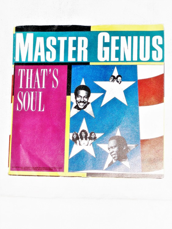 "Master Genius ""That´s Soul"" mycket bra skick."
