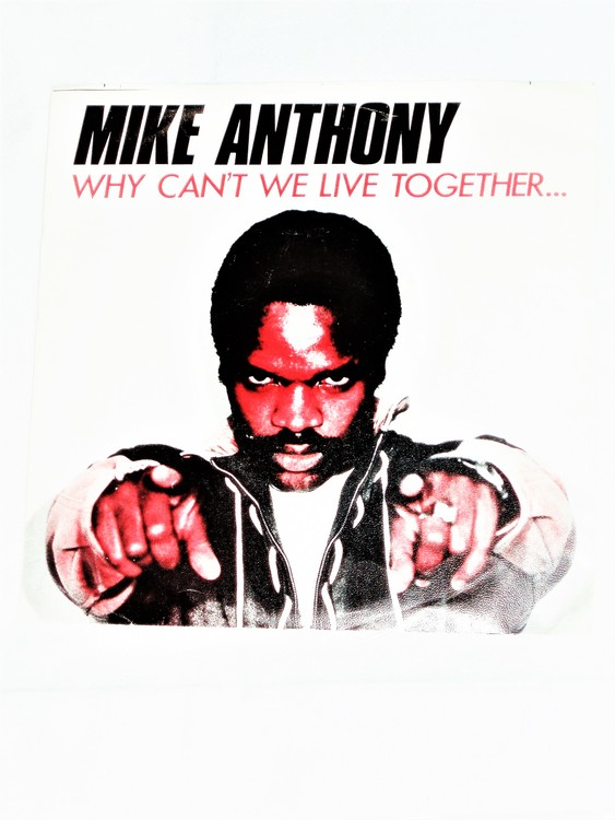 """Mike Anthony """"Why Cant We Live Together"""" mycket bra skick."""