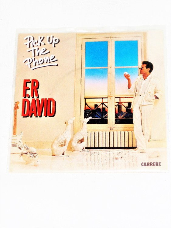 "F.R David ""Pick Up The Phone"" mycket bra skick."